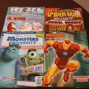 Other - NWOT 6 Coloring & Activity books